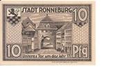 10 Pfennig (Ronneburg) – reverse
