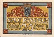 25 Pfennig (Pößneck) – obverse
