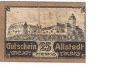25 Pfennig (Allstedt) – reverse