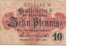 10 Pfennig (Gera) – obverse
