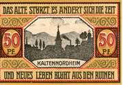 50 Pfennig (Kaltennordheim) – reverse