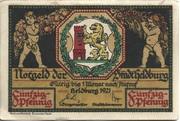 50 Pfennig (Heldburg) – obverse