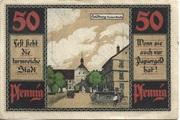 50 Pfennig (Heldburg) – reverse