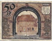 50 Pfennig (Pölzig) – reverse