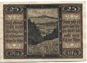 25 Pfennig (Geisa) – reverse