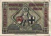 50 Pfennig (Geisa) – obverse
