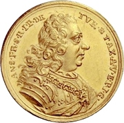 1 Ducat - Anselm Franz – obverse
