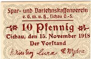 10 Pfennig (Spar- und Darlehnskassenverein) – obverse