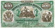 100 Francs (Banca della Svizzera Italiana) – obverse