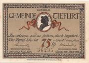 75 Pfennig – obverse
