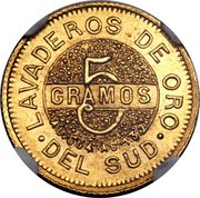 5 Gramos -  reverse
