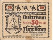 50 Heller (Timelkam) -  obverse