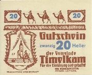 20 Heller (Timelkam) -  obverse