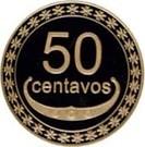 50 Centavos – reverse