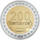 200 Centavos – reverse