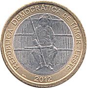 100 Centavos (Boaventura de Manufahi) – obverse