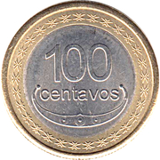 100 Centavos (Boaventura de Manufahi) – reverse