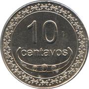 10 Centavos – reverse