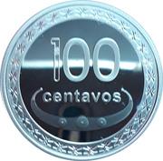 100 Centavos (Boaventura de Manufahi; Silver) – reverse