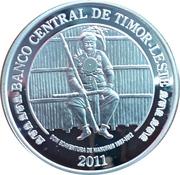 100 Centavos (Boaventura de Manufahi; Silver) – obverse