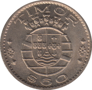 60 Centavos – obverse