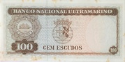 100 Escudos -  reverse