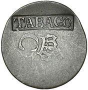 2¼ Pence (TOBAGO Countermark) – obverse