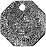 10 Pfennig  - Tönning – obverse