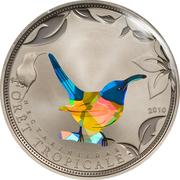 100 Francs (Blue Sunbird) – reverse