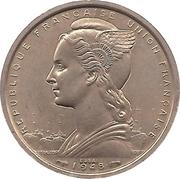 2 Francs Union française (Essai) – obverse