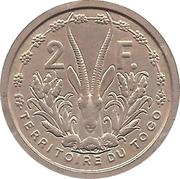 2 Francs Union française (Essai) – reverse