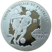 500 Francs CFA (XVIII World Cup - Germany 2006) – reverse