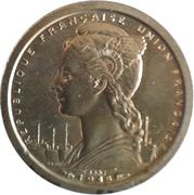 1 Franc Union Française – obverse