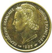 10 Francs Union française (Essai) – obverse