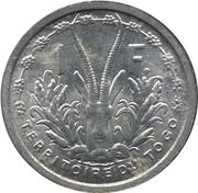 1 Franc Union française – reverse