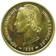 25 Francs Union française (Essai) – obverse