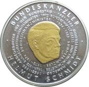 500 Francs CFA (Helmut Schmidt) – reverse
