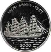 1000 Francs CFA (Pamir) – reverse
