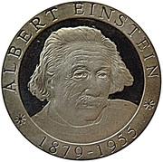 500 Francs CFA (Albert Einstein) – reverse