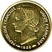5 Francs Union française – obverse