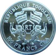 100 Francs CFA (Elephant) – obverse
