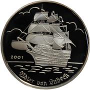 1000 Francs CFA (Adler von Lübeck) – reverse