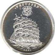1000 Francs CFA (Preussen) – reverse