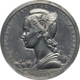 1 Franc (Piefort Essai) – obverse