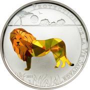 100 Francs CFA (Lion) – reverse
