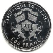 500 Francs (Gorch Fock) – obverse
