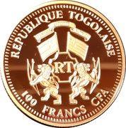 100 Francs CFA - Pope Benedict XVI – obverse