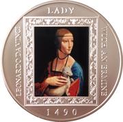 1 Dollar - Elizabeth II (Lady with an Ermine) – reverse