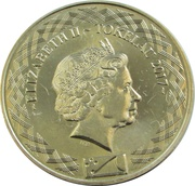 5 Cents - Elizabeth II (4th portrait) – obverse