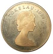 1 Tala - Elizabeth II (2nd Portrait; Silver Proof Issue) – obverse